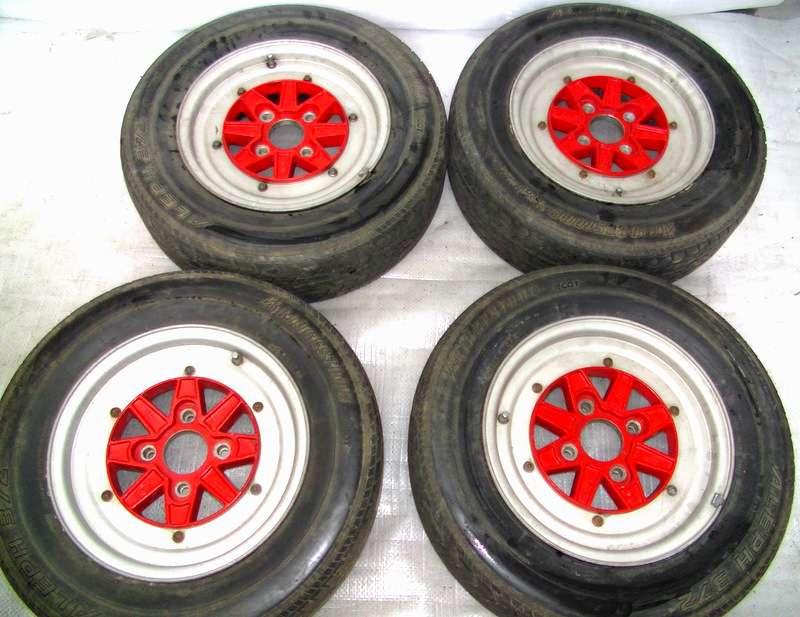 SSR MK3 14 7J Rims Alloy Wheels 4x114 AE86 Civic Datsun Lancer A